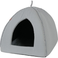 "IGLOO ""ECO"" 45 cm Gris/Noir/Rose"