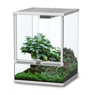 TERRARIUM SMART LINE - BLANC 45 cm version haute